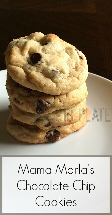 Mama Marla's Chocolate Chip Cookies | 918 Plate