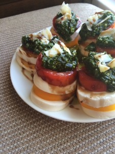 Caprese Salad: Three Ways   918 Plate