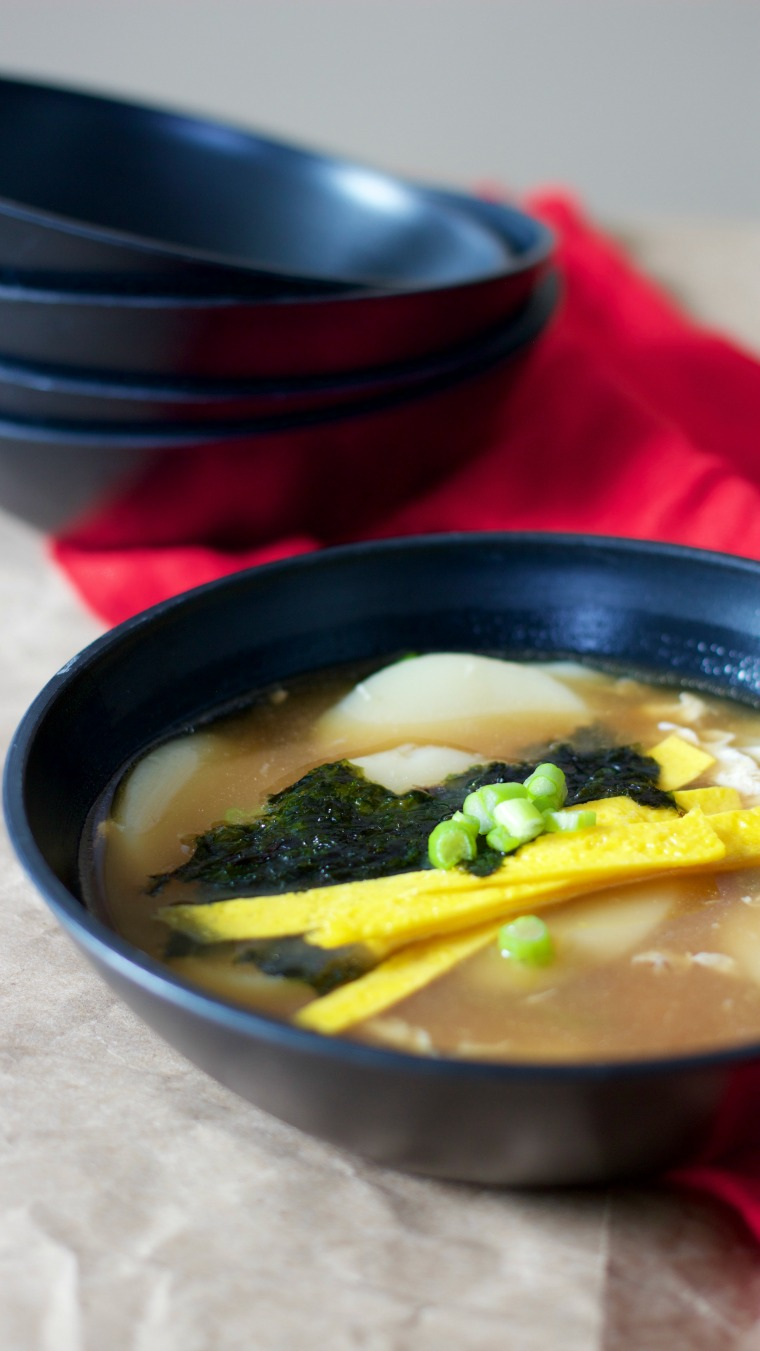 Eat this Korean Rice Cake Soup to turn one year older at the Lunar New Year!