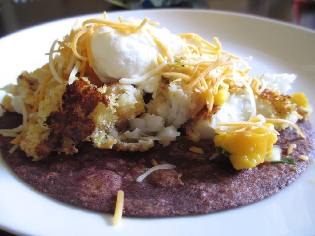 Mango Fish Tacos | 918 Plate