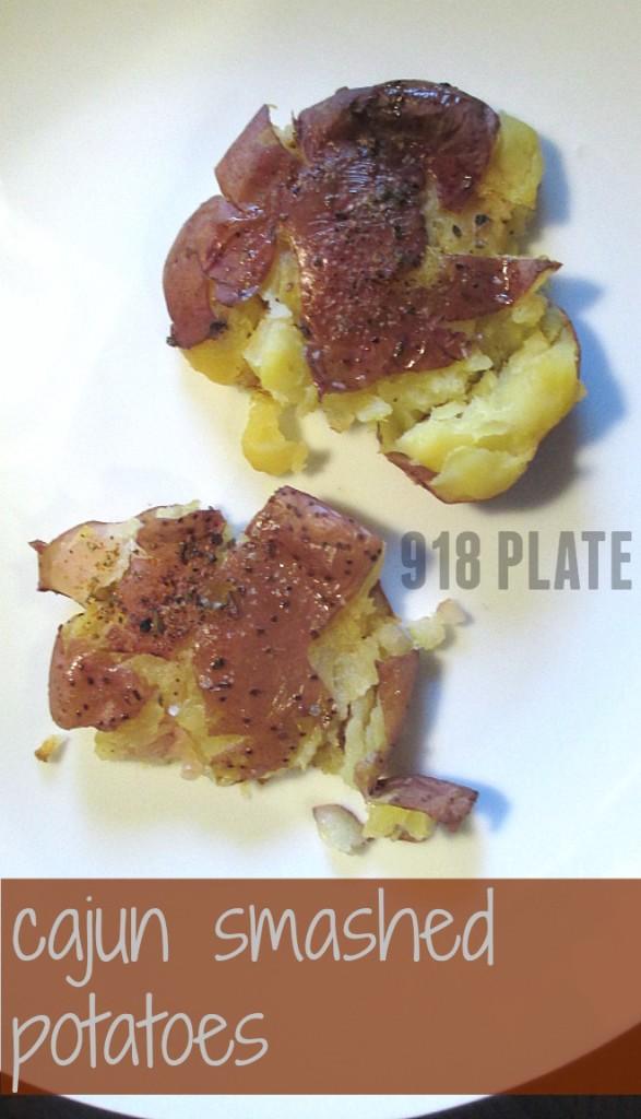 Cajun Smashed Potatoes | 918 Plate