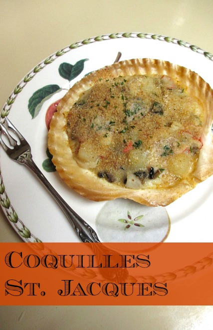 Coquilles St. Jacques | 918 Plate