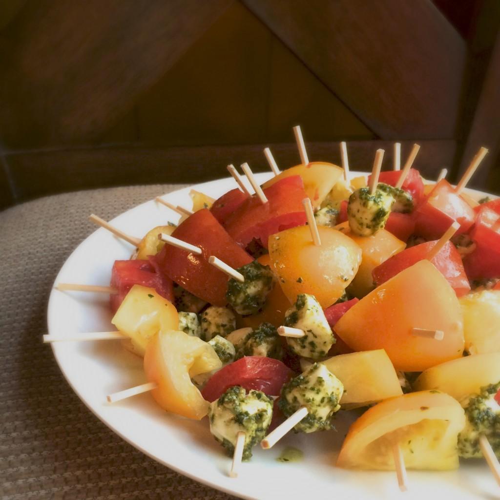 Caprese Salad: Three Ways | 918 Plate