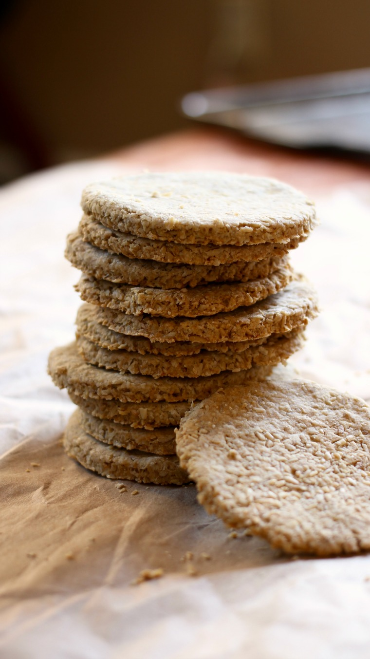 These traditional Scottish oatcakes are perfect vessels for whatever your taste buds desire!