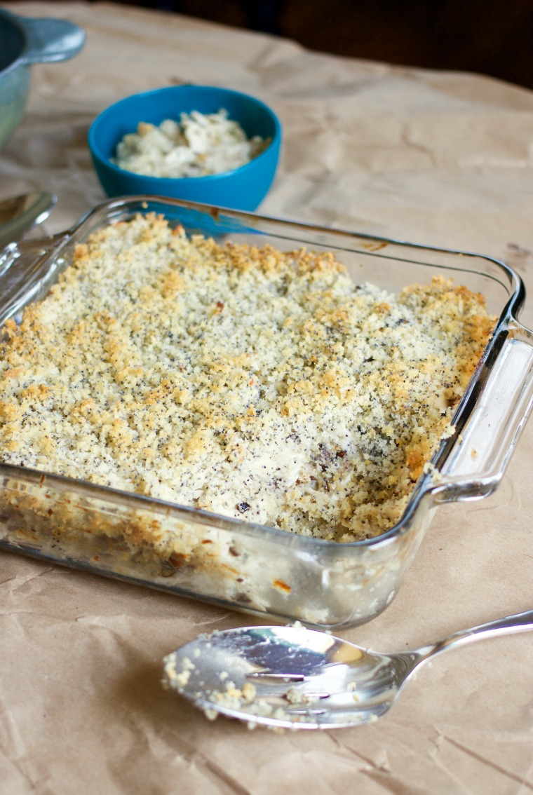 Make this family-favorite completely from scratch and everyone will be asking for more homemade poppy seed chicken casserole!