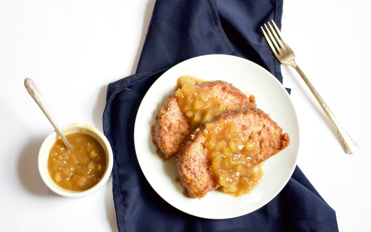 This sweet ham loaf with pineapple sauce is a great addition to your spring holiday table.