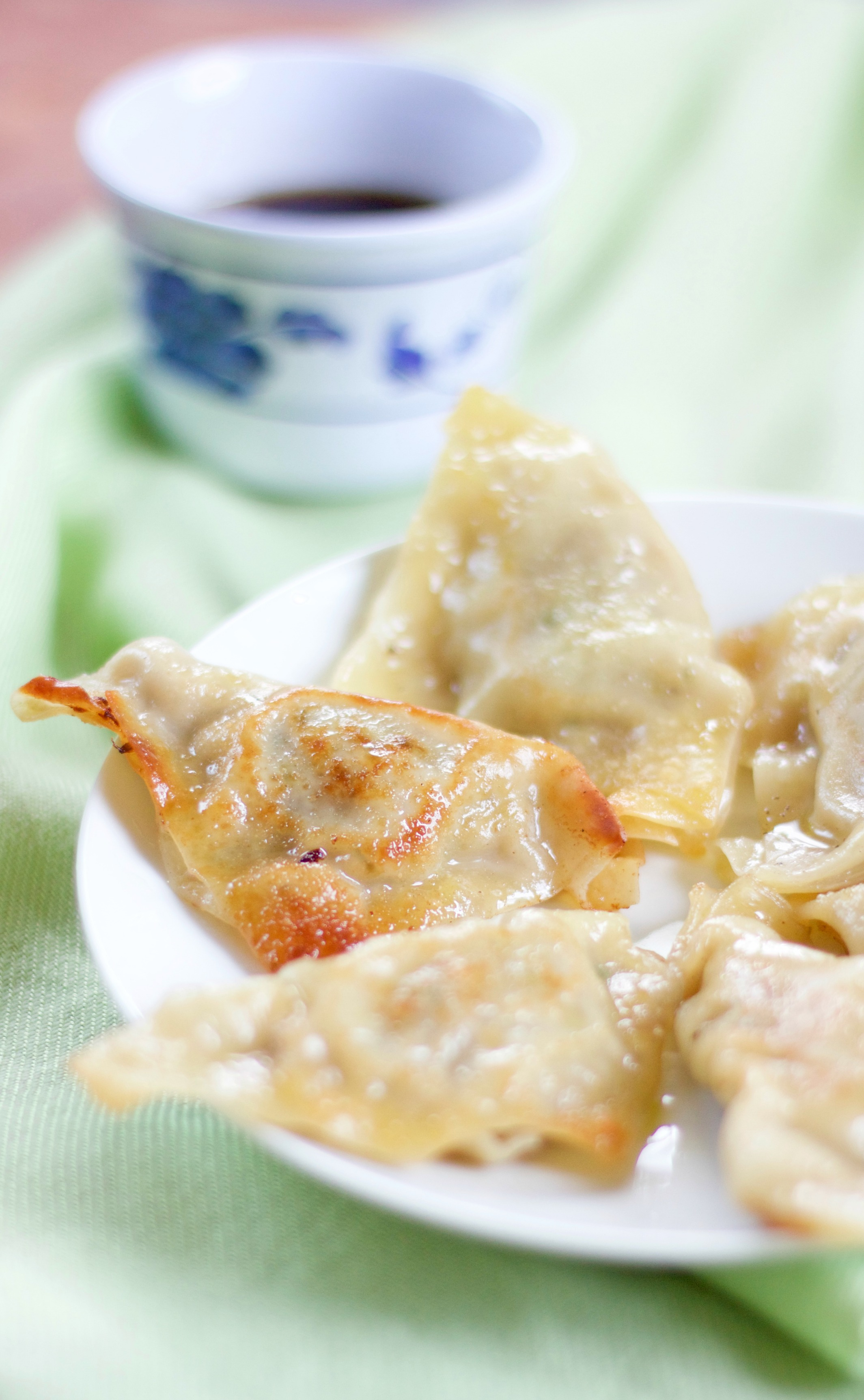 This recipe for authentic Korean pork dumplings, Mandu, makes enough for a crowd or lots of snacks!
