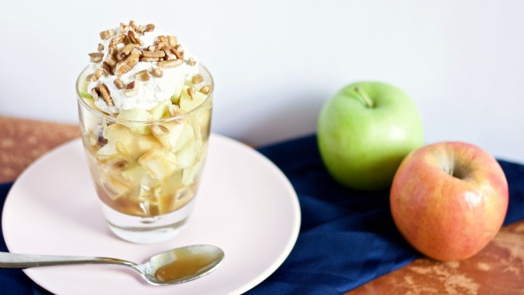 Turn any day into a celebration with these sweet and rich apple sundaes!