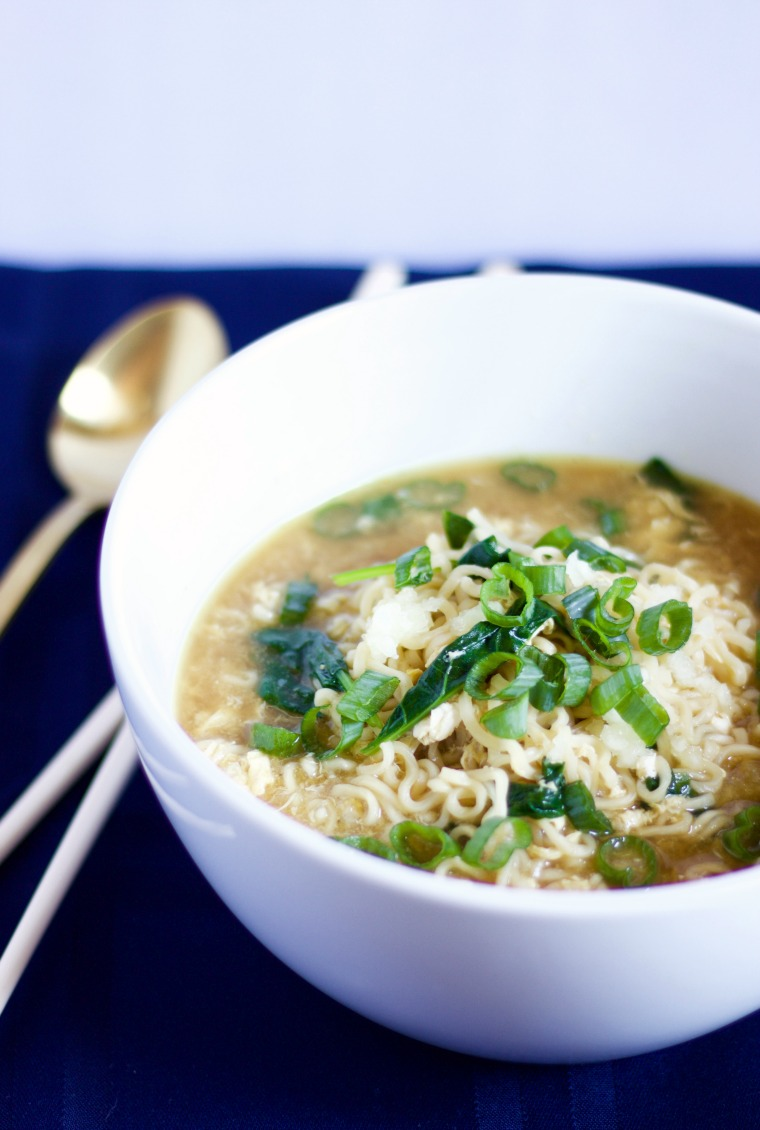 This make-at-home chicken ramen is fast but also full of great taste, without the sodium overload!