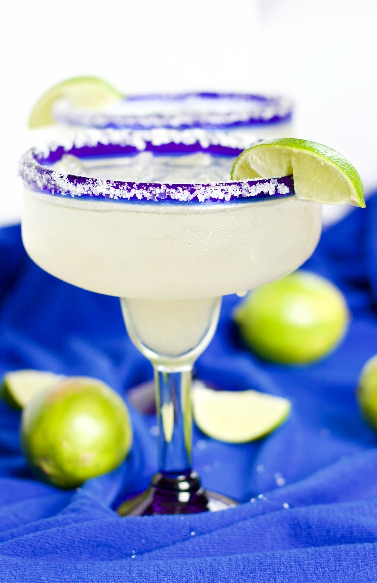 This recipe for a pitcher of margarita always gets the party started!