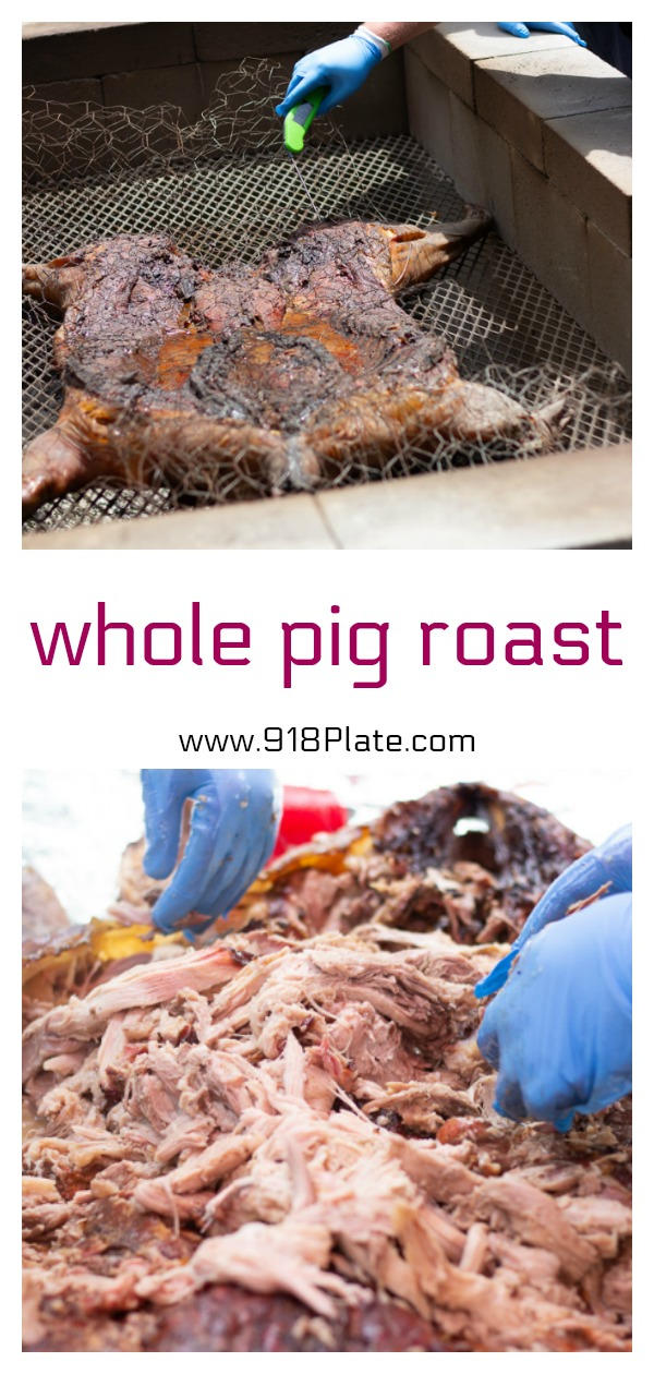 If you ever wanted to know how to do a backyard pig roast, look no further. | 918 Plate | #glutenfree | #dairyfree | #smoking | #bbq