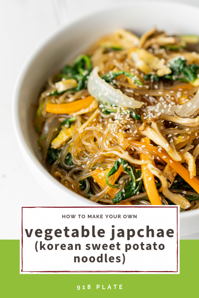Vegetable Japchae | 918 Plate